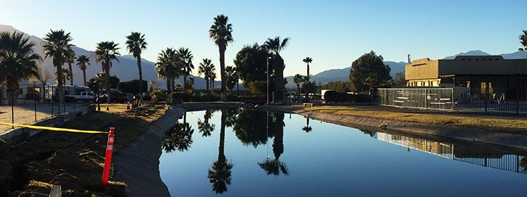 RV Camping in California. Catalina Spa RV Resort is the happiest surprise on our trip so far!