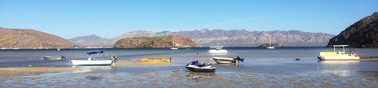 Day 5 of our RV Trip with Baja Winters: San Ignacio to Santispac Beach, Bahía de Concepción, Baja California Sur, Mexico. The beaches at Bahia Concepcion are well worth the effort it takes to get to them