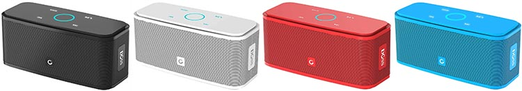 Simple RV Upgrades: Budget DOSS Soundbox Bluetooth Speaker. You can choose from four colors for your DOSS Soundbox Bluetooth Speaker