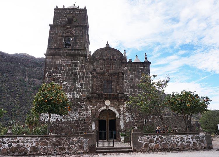 The San Javier Mission Church