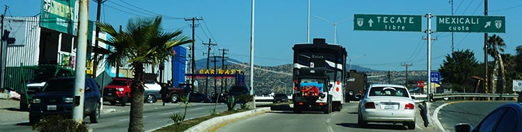 We followed our RV caravan and the sign posts, guided on the CB by Wagonmaster Becky. That's Goliath (Joe & Kathy) ahead of us in the big Class A