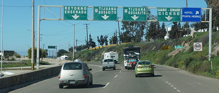 Our Return RV Caravan Trip from Baja California: Santispac Beach to Tecate. We have seldom been so glad to get out of a city as we were when we finally left Ensenada!