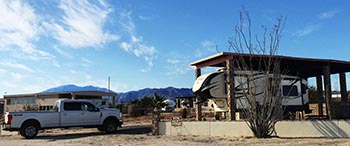 Our rig at El Dorado Ranch in San Felipe