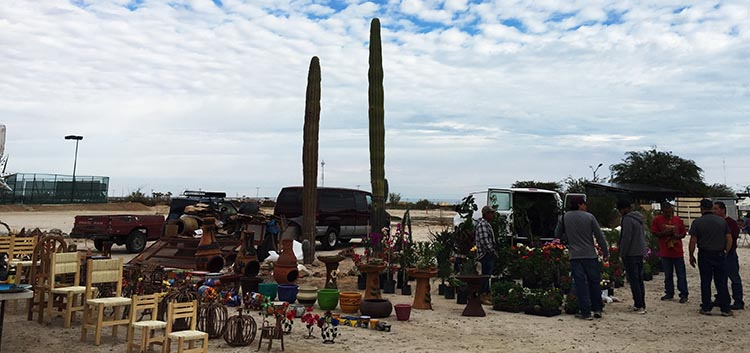The Saturday morning Swap Meet on El Dorado Ranch