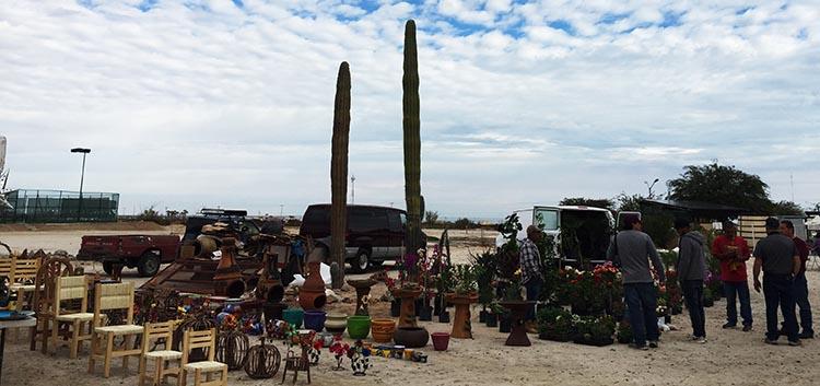 The Saturday morning Swap Meet on El Dorado Ranch