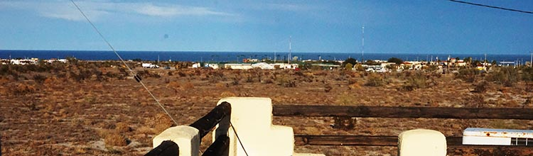 From our house, we have a view of the Sea of Cortez, which will not be obstructed because we look out over a designated green space