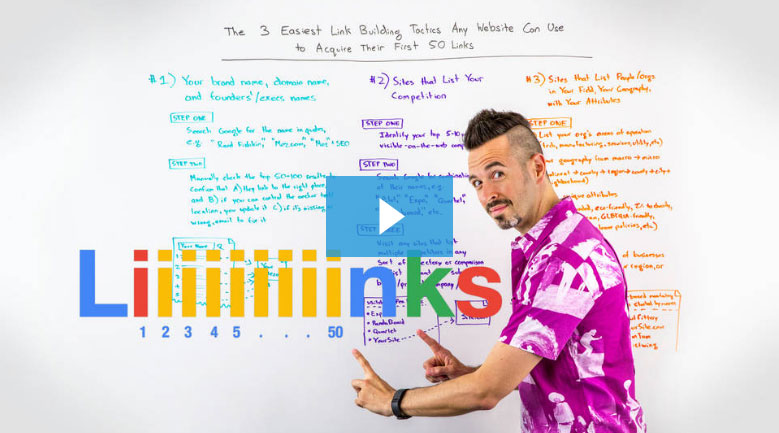The 3 Easiest Link Building Tactics Any Website Can Use to Acquire Their First 50 Links