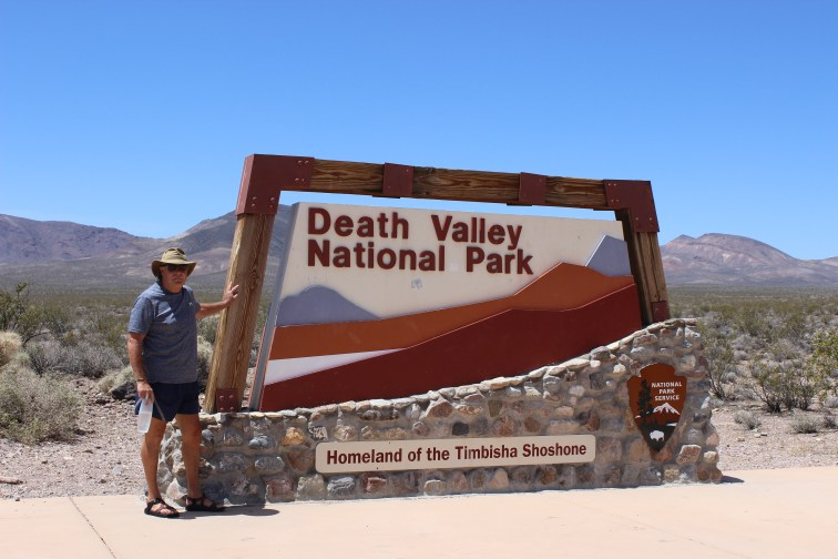 Death Valley National Park the driest and lowest spot in North America, and hottest in the world