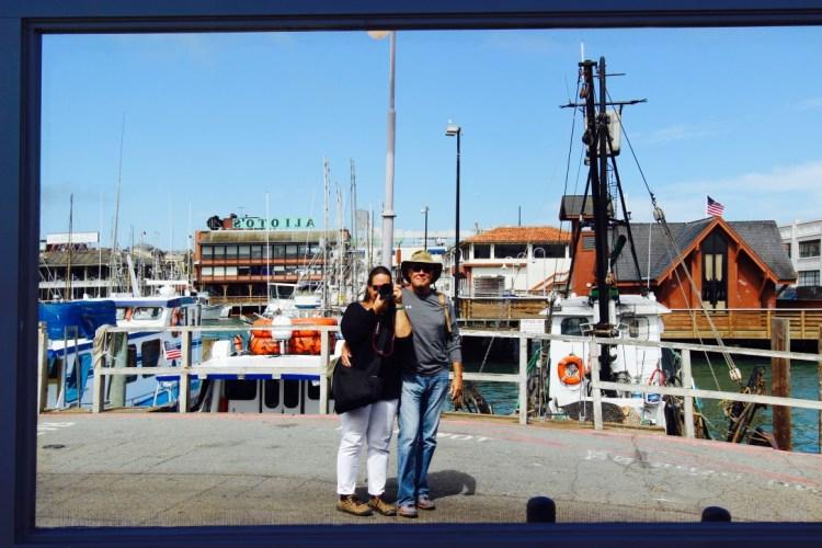 San Francisco, CA. Fisherman's Wharf.