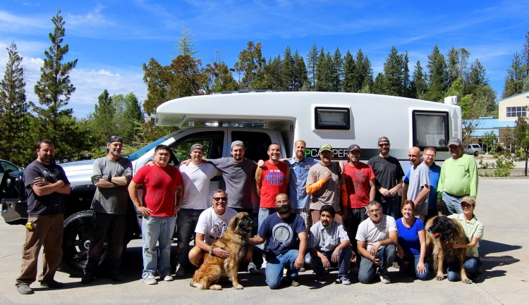 Thanks to Marc, Toni and their team of professionals at XPCamper for our new home.