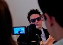 Filming with Joe
