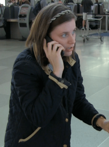 Joe interrupts Nancy's time with Ned at the airport