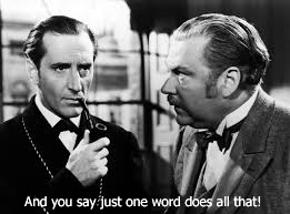 holmes & watson = because copy