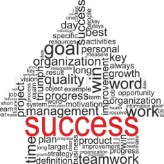 success-concept-related-words