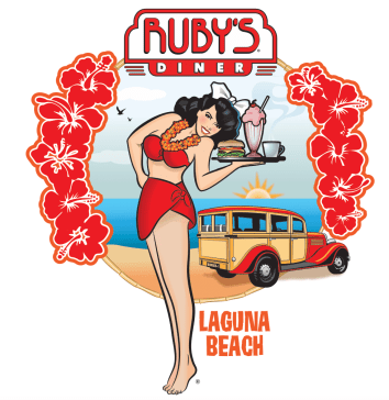 Ruby's Diner tee shirt