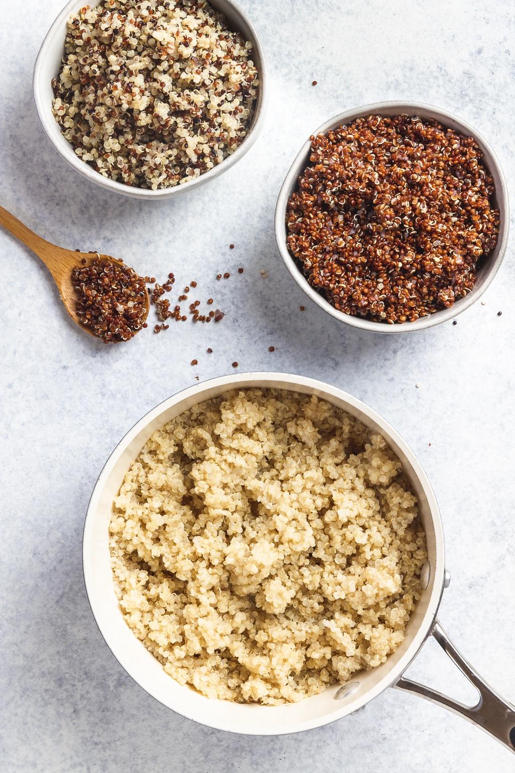 three easy ways to cook quinoa