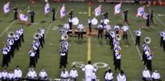 High School Football - VP Band Halftime