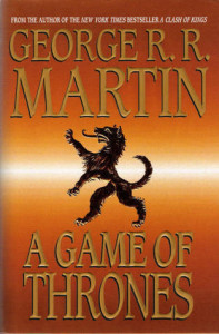 A Game of Thrones front cover
