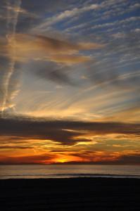 Digital Photography HB Sunset