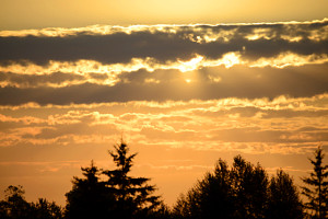 Minnesota Sunrise--non-humor