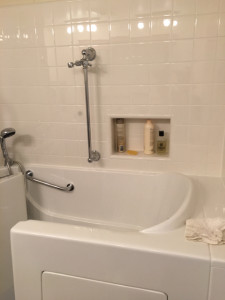 Finished Accessible Shower/Tub 5