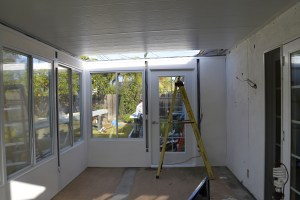Construction Sunroom 8