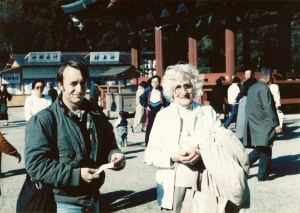 John and Mom in Japan