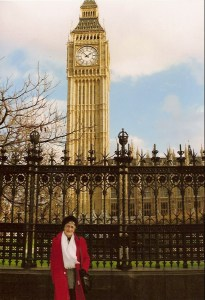 Mom in London