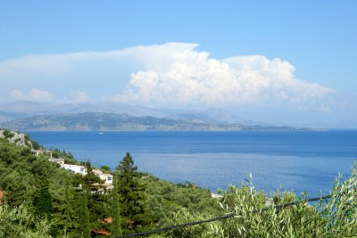 Thunder clouds over Albania