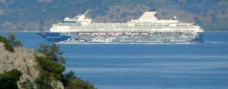 . . . ply the strait between Corfu and Albania/mainland Greece.