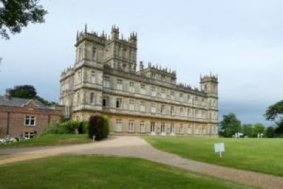 Trip - The backside of Highclere