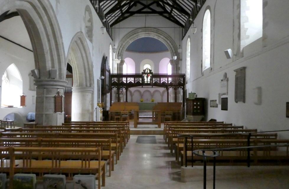 St. Thomas of Canterbury - Interior Facing Altar