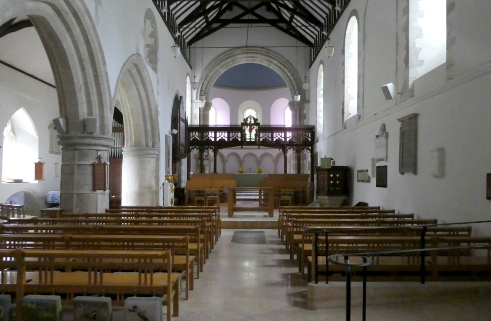 St. Thomas of Canterbury - Interior Facing Altar