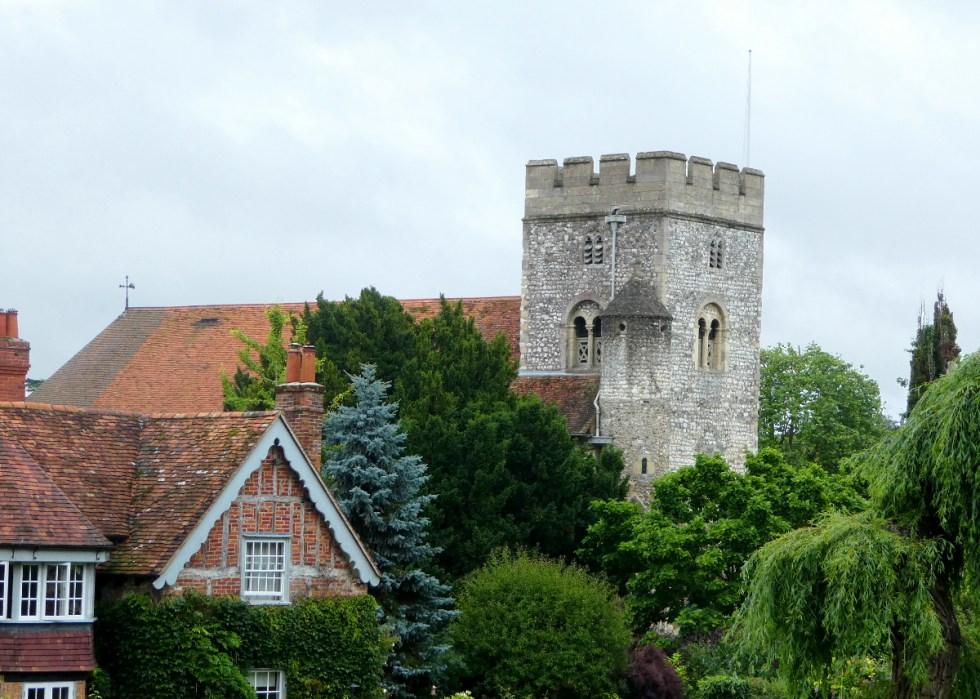 St. Thomas of Canterbury - Exterior from main road.
