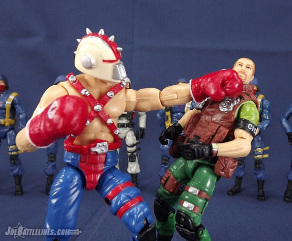 G.I. Joe Collector's Club Big Boa vs. Surefire