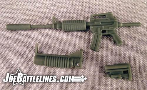 Duke M-16 breakdown