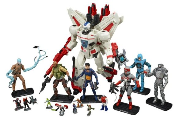 REVOLUTION Comic Action Figures CR: Hasbro