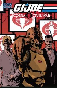 IDW's G.I. Joe: Cobra Civil War #0