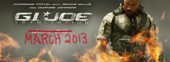 G.I. Joe Retiation - moved to March 29, 2013