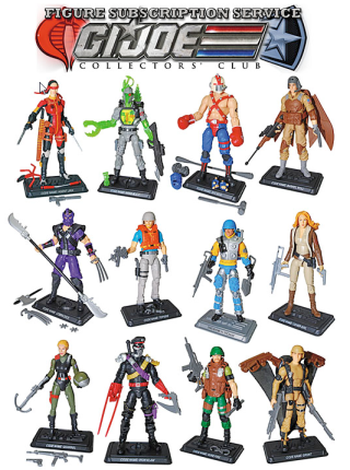 G.I. Joe Collector's Club FSS wave 1