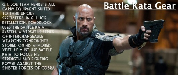G.I. Joe Retaliation battle kata gear