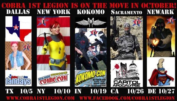 Cobra 1st Legion October 2013