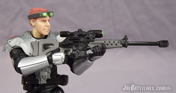 G.I. Joe Collector's Club Figure Subscription Service Cobra Sniper Black Out