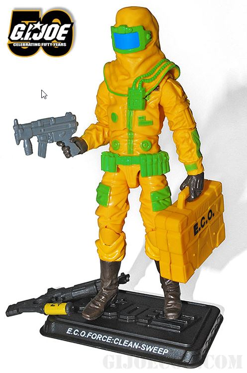 G.I. Joe Convention exclusive Clean-Sweep