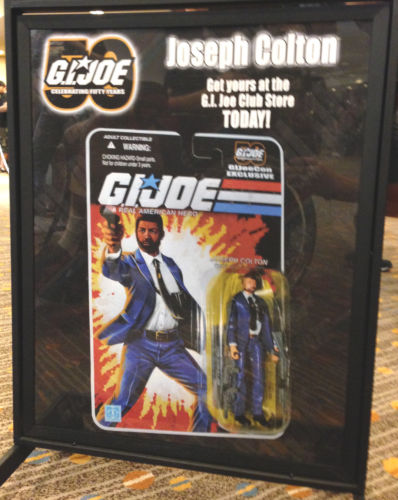 G.I. Joe Convention 2014 Carded Joe Colton