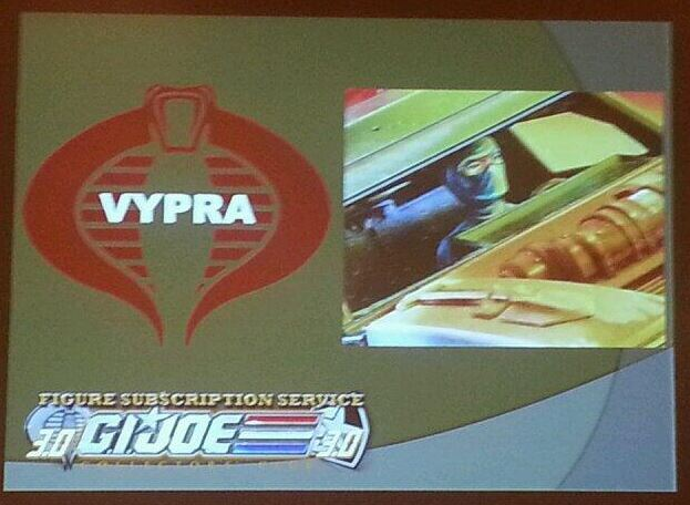G.I. Joe Collector's Club FSS 3 Vypra