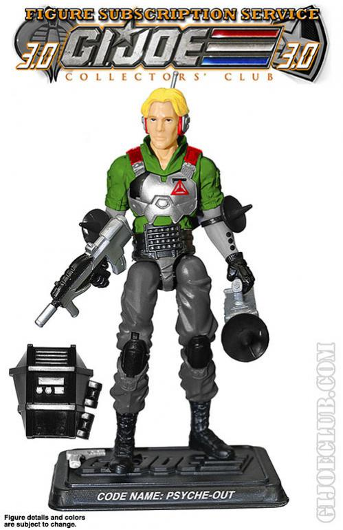 G.I. Joe Collector's Club FSS Psyche Out