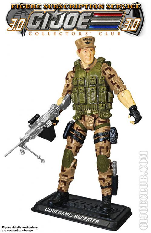G.I. Joe Collector's Club FSS 3.0 Repeater