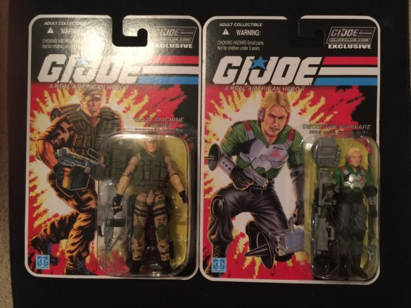 G.I. Joe Collector's Club FSS 3 Shipment 1