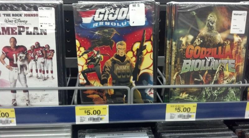 G.I. Joe Resolute at Walmart